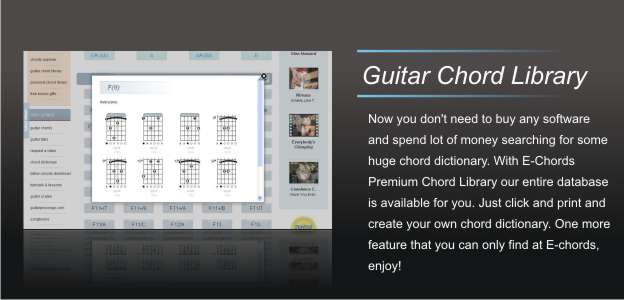 E Chords Sign In On Your Account